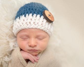 Baby Boy Hat, Baby Boy Gift, Newborn Boy Hat, Newborn Boy Hospital Hat, Newborn Boy Photo Prop Knit Baby Hat, Winter Hat Baby, Baby Wool Hat
