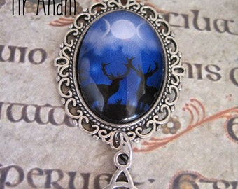 Pendant Goddess Stags