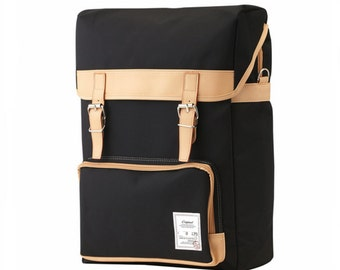 Colorful Big Backpack (Black)