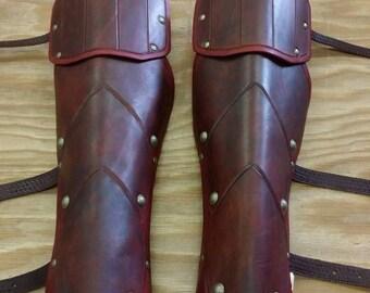 Leather Armor Ranger Greaves