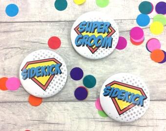 Super Groom - Alternative Boutonniere - Comic Book - Groomsman - Superhero - Comic Book Inspired - Geeky Wedding - Stag Night -