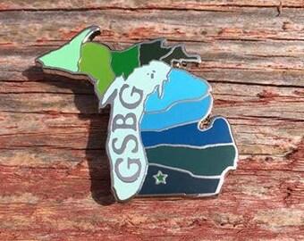Greensky Bluegrass Hometown Lapel Pin