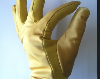 Vintage fifties gold gloves sz small
