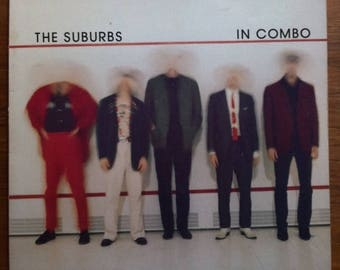 SPRING SALE The Suburbs • In Combo Vinyl LP 1980 Twin Tone Records Post Punk New Wave