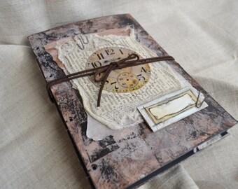 Masculine Journal, Junk Journal, Art Journal