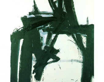 Franz Kline-Untitled-1997 Poster