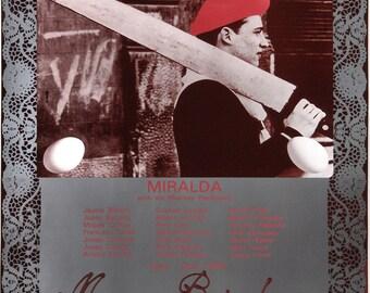 Miralda-Galeria Joan Prats-1980 Poster