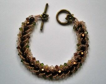Crystal Forest Bracelet