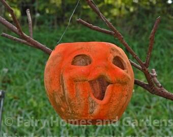 Primitive Pumpkin Luminary Hanger