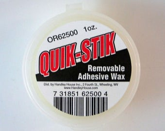Tacky wax quik Stik for the Doll House, Doll House, dollhouse miniatures