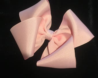 Pink Bow On A Clip
