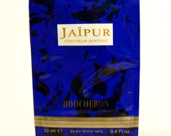 Vintage 1990s Jaipur by Boucheron 0.4 oz Silky Body Veil Perfumed Body Lotion Sample Packet