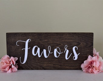 Favors Rustic Sign- Wedding Favors Woodland Sign- Wedding Favors Table Wood Sign - Wedding Take One Decor Sign