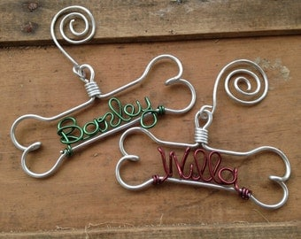 Personalized Dog Ornament Dog Lover Gifts Gifts for Pets