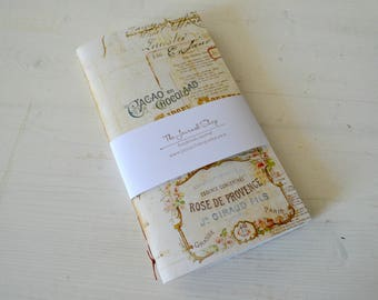 Handmade watercolor midori insert, mixed media journal, pocket journal, booklet,  with choice of  190 gsm/  300gsm supreme watercolor paper