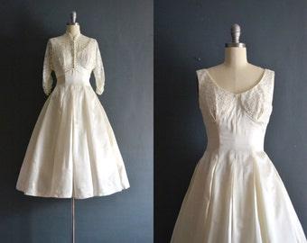 Jolene / 50s wedding dress / short wedding dress
