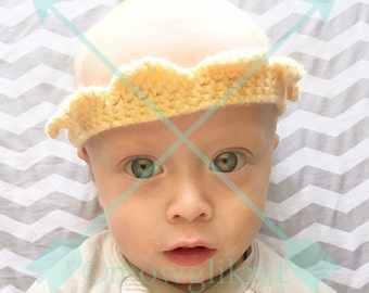 Knitted Crown, Royal, King, Queen, Princess, Prince, Tiara, Photo Prop for newborn, child, and adult