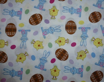 One Yard of EasterThemed Fabric  Produced exclusively for JoAnn's Stores
