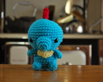 Crochet Chibi Totodile