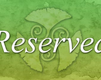 Reserved for T - Ginkgo Spirit