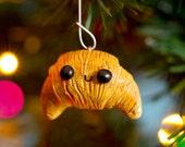 Handmade Croissant Ornament