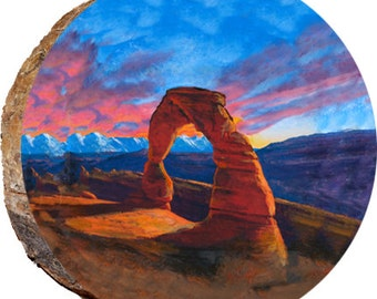 Arches Colorful Sunset - DCM161