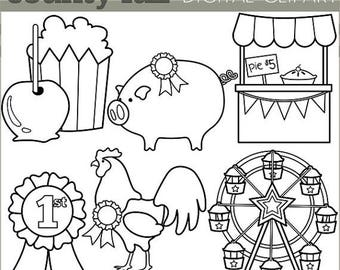 Ferris wheel clipart | Etsy