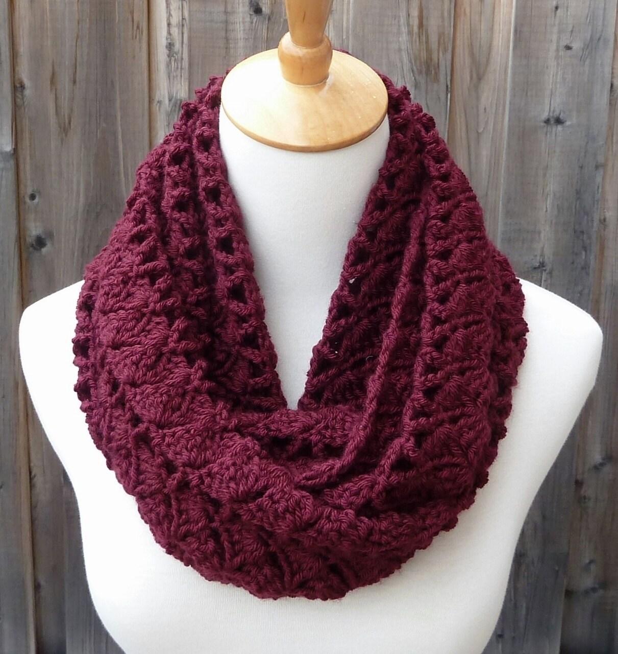 on sale burgundy infinity scarf merlot infinity scarf