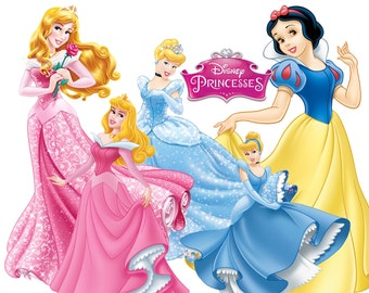 BEST collection of 85 Disney's PRINCESSES Clipart - 85 high quality PRINCESSES clipart - 85 Princesses Graphics and clipart !!!