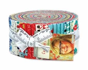 Sunday Drive Prints Jelly Roll - Moda Fabrics - 43070JR