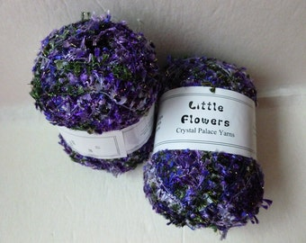 Sale Violets 9556 Little Flowers by Crystal Palace Yarns