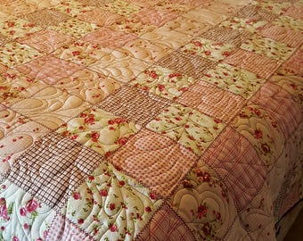 Queen Quilt - Pretty in Pink