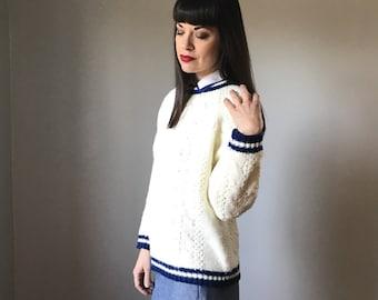 Vintage Varsity Sweater