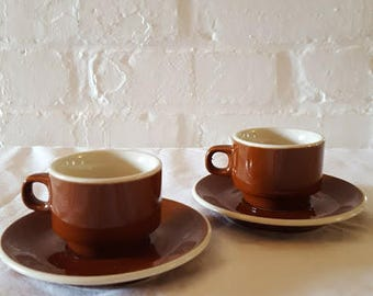 Made in Italy Espresso Cups and Saucers