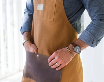 Duck Canvas & Leather Apron - Made in U.S.A.
