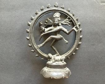 Vintage Shiva Statue Dancing Nataraja Lord Of Dance God