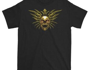 Tribal skull t shirt