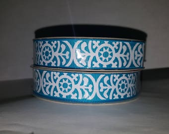 Turquoise Aztec Ribbon