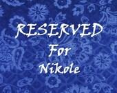 Private Listing Nikole