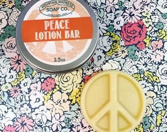 Organic Peace Lotion Bar