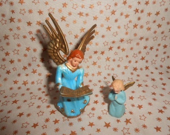 Two Vintage Craft Angels