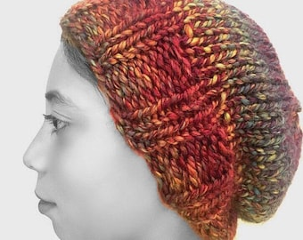 Multicolor slouchy hat