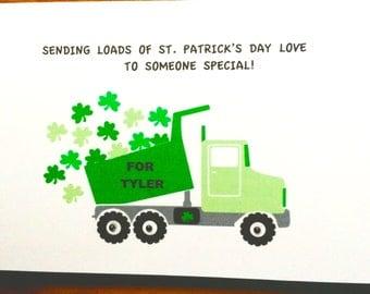 St. Patrick's Day Card For Grandchild-Daughter-Son-Children