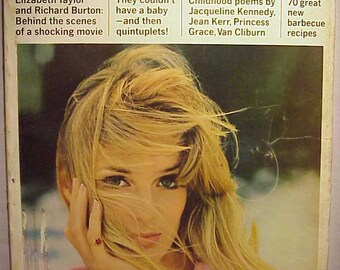 June 1966 McCall's Magazine with Deborah Dixon on the cover By Otto Storch , has 168 pages of ads and articles