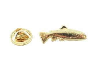 Brook Trout ~ Lapel Pin/Brooch ~ FG011MP