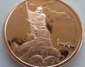 Silver Warrior 1 oz .999 Pure Copper Challenge Coin