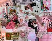 Vintage Valentines Inspiration Kit*Pink Inspiration Kit*Shabby Chic Valentines