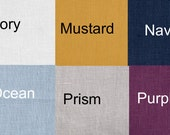 24 Colors Linen Drapes SALE>>> European Linen curtains  small window through 2 Story Extra Long Custom Made  European Linen