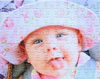 Personalized Photo Puzzle in a variety of piece counts.  Custom Photo Puzzle 16x20  Extra Large Personalized Puzzle.  Picture Puzzle