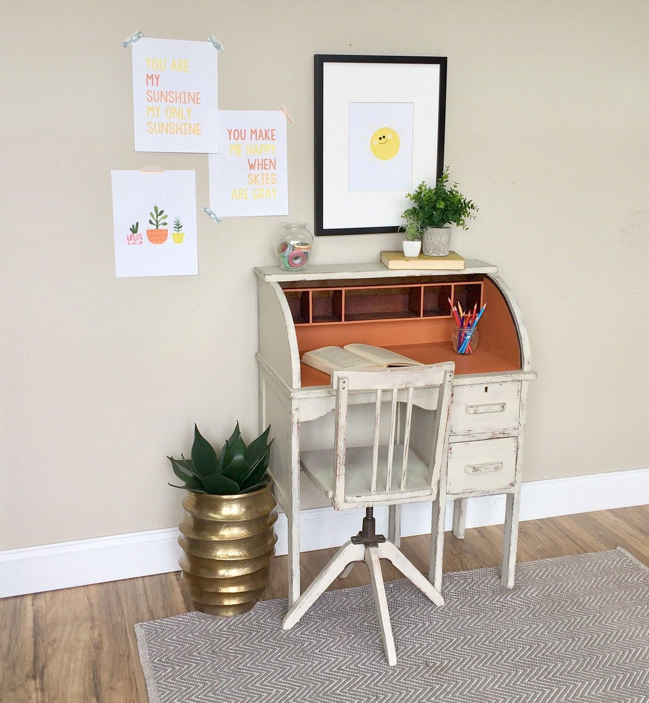Kids Room Desk: Small Kids Desk Kids Room Furniture Small Wooden Desk